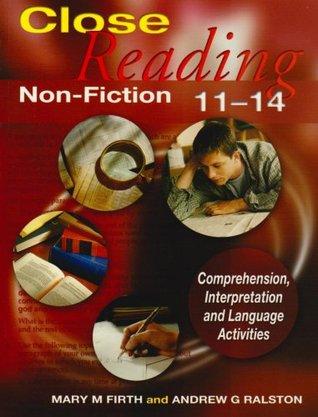Close Reading Non Fiction