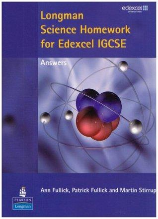 Longman Science for Edexcel Igcse Homework Answers