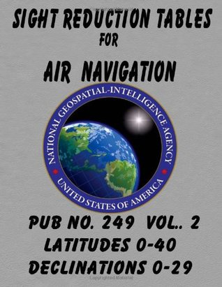 Sight Reduction Tables for Air Navigation Vol 2