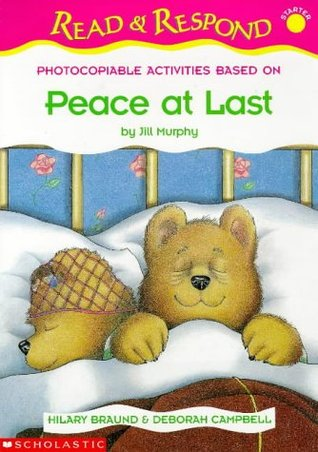 Photocopiable Activities Based On Peace At Last By Jill Murphy
