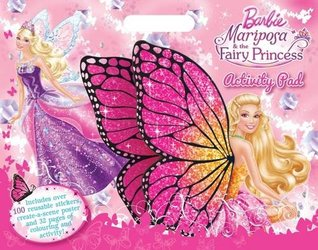 Barbie Mariposa A3 Activity Pad