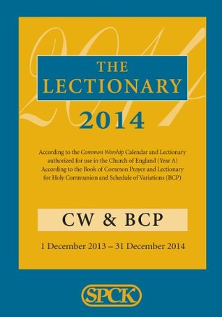 Common Worship Lectionary 2014