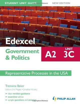 Edexcel A2 Government & Politics Student Unit Guide Unit 3(c): Representative Process in the USA.