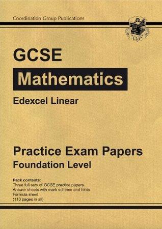 GCSE Maths Edexcel Linear Practice Papers - Foundation