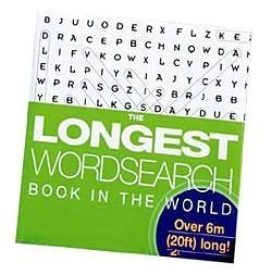 The Longest Wordsearch Book In The World (Concertina Books)