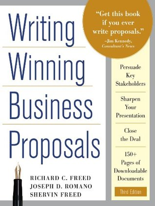 Writing Winning Business Proposals By Richard C Freed