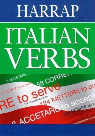 Harrap Italian verbs