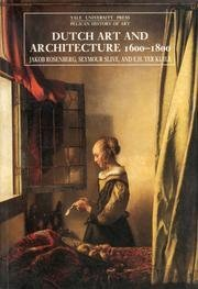 Dutch Art And Architecture, 1600 To 1800