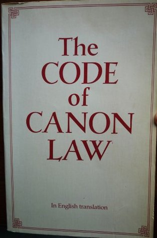 Code Of Canon Law Latin English