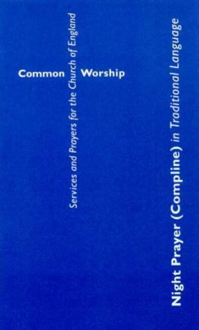 Night Prayer (Compline) in Traditional Language Booklet
