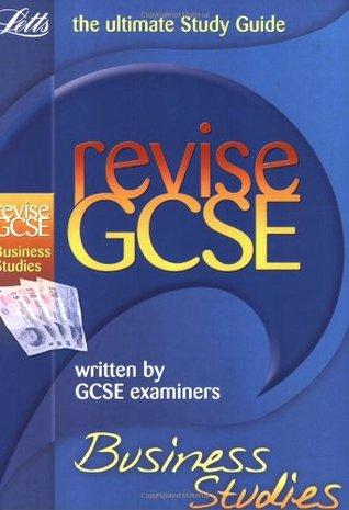 Letts Revise Gcse Business Studies.