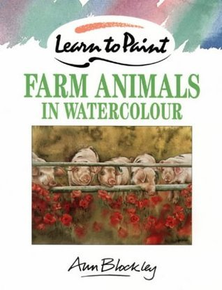 Farm Animals In Watercolour