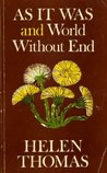 As It Was & World Without End