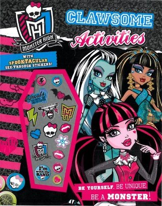 Monster High Clawsome Activities