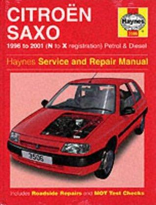 Citroen Saxo Service and Repair Manual