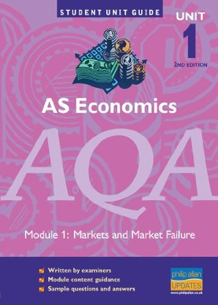 AS Economics AQA: Unit 1: Markets and Market Failure