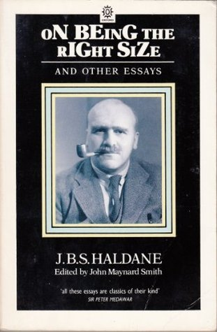 On Being The Right Size And Other Essays por J.B.S. Haldane 978-0192860453 FB2 TORRENT