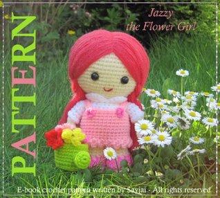 Jazzy the Flower Girl - Amigurumi Doll Crochet Pattern