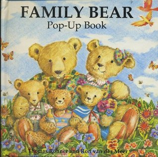 Family Bear Pop-up Book