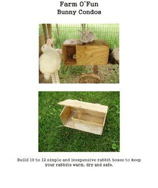 Farm O' Fun Bunny Condos
