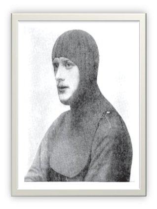 #1501 Balaclava Helmet Vintage Knitting Pattern