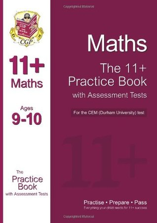 11+ Maths Practice Book with Assessment Tests (age 9-10) for the CEM Test