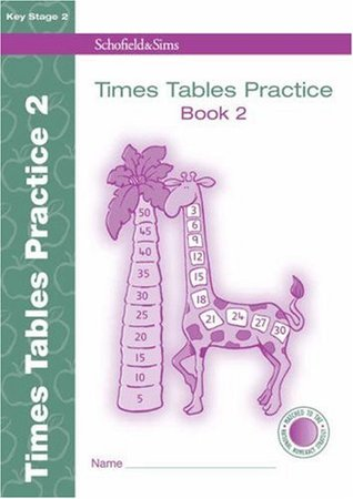 Times Tables Practice Book 2