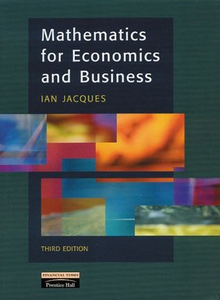 Mathematics For Economics And Business