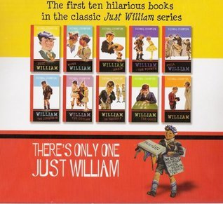 Just William, More William William Again, William - The Fourth, Still William, William The Conqueror, William The Outlaw, William In Trouble, William The Good, & William (10 BOOK BOX SET) PAPERBACK BY RICHMAL CROMPTON