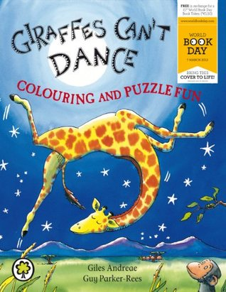 Giraffes Can't Dance Colouring and Puzzle Fun - World Book Day Pack