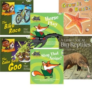 Learn to Read at Home with Bug Club: Blue Pack Featuring Basil Brush (Pack of 6 Reading Books with 4 Fiction and 2 Non-Fiction)