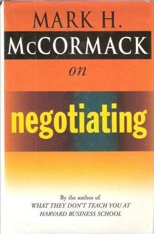 McCormack on Negotiating