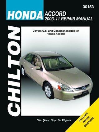 Chilton Total Care Care Honda Accord 2003-2007 Repair Manual