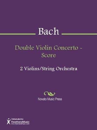 Double Violin Concerto - Score