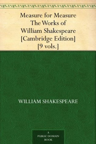 Measure for Measure  The Works of William Shakespeare