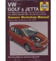 VW Golf and Jetta Petrol and Diesel Service and Repair Manual: 2004 to 2007