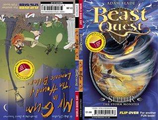 Beast Quest: WBD 2009 50c pk Mr Gum & the Hound of Lamonic Bibber/Beast Quest Sephir the Storm Monster
