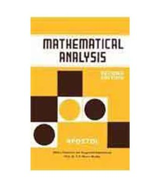 Mathematical Analysis Pdf Book