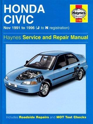 Honda Civic (91 96) Service And Repair Manual (Haynes Service And Repair Manuals)