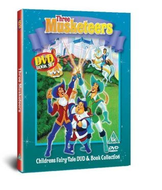 Three Musketeers (Fairytale Book and DVD)