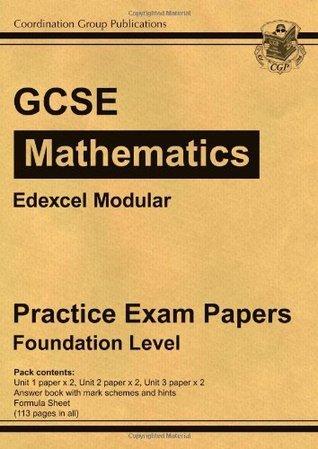 GCSE Maths Edexcel Modular Practice Papers - Foundation
