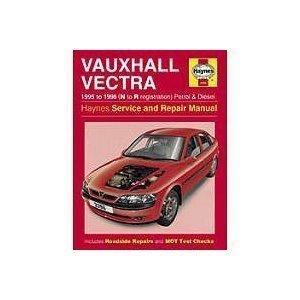 Vauxhall Vectra 1995 to 1998 Petrol & Diesel Service and Repair Manual