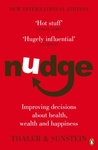 Book cover for Nudge: Improving Decisions About Health, Wealth and Happiness