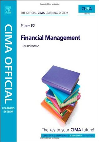 Cima Official Learning System Financial Management