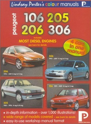 Peugeot 106, 205, 206, 306 Colour Workshop Manual
