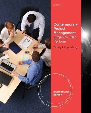 Project Management Contemporary Approach
