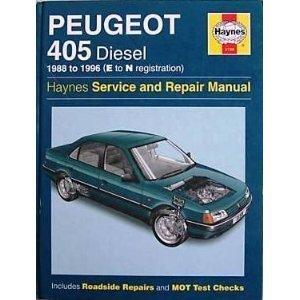 Peugeot 405 Diesel Service and Repair Manual