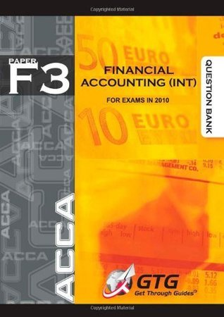 ACCA - F3 Financial Accounting (INT) : QUESTION BANK: 1