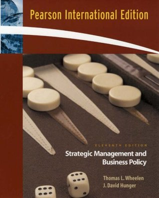 Strategic Management And Business Policy Concepts And Cases By