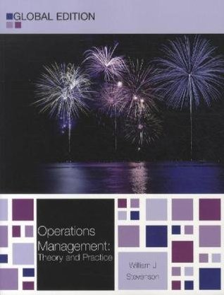 Operations management by william j stevenson fandeluxe Images